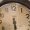 Large Smiths Bakelite Wall Clock1