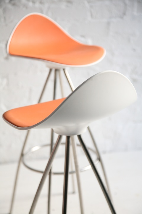 Onda Spain  city pictures gallery : Onda' Bar Stool by Jesus Gasca for Stua Spain | Cream and Chrome