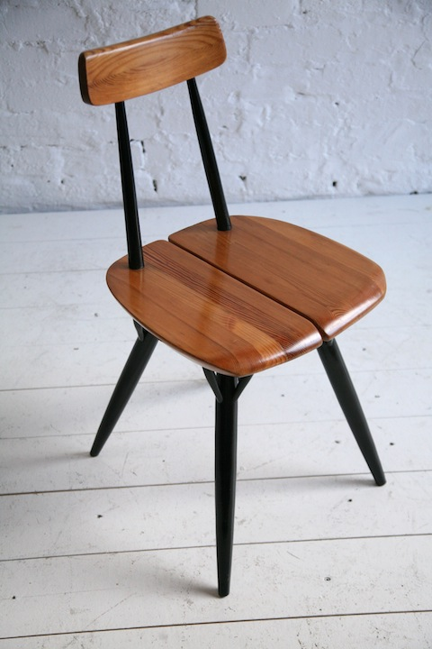 Pirkka Chair by Ilmari Tapoivaara for Laukaan Puu Finland