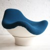 Rodica Lounge Chair Designed by Mario Brunu for Comfort, Italy in 1968