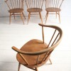 Vintage Ercol Cowhorn Dining Chairs