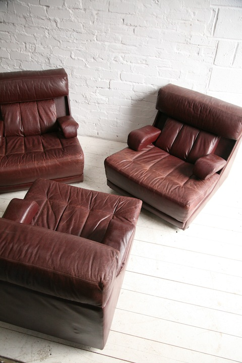 1970s Modular Sofa Chairs By Tetrad Uk Cream And Chrome