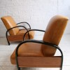 1930s Leather Armchairs 2