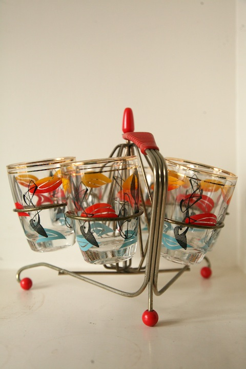 1950s Cocktail Glasses