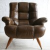 1960s Leather Armchair 3