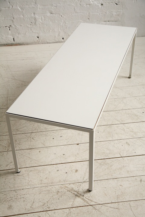 Coffee Table By George Nelson Cream And Chrome