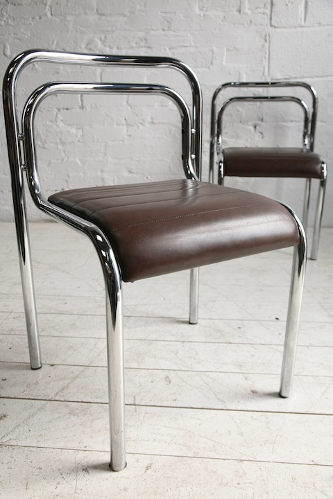 OMK Chrome Chairs