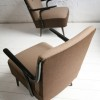 1950s Brown Lounge Chairs3