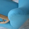 1950s Cocktail Chair in Blue4
