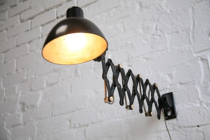 ... 1950s German Scissor Wall Lamps2 ...