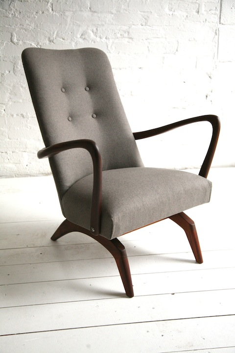 1960s Spring Rocking Chair