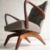 1960s Spring Rocking Chair3