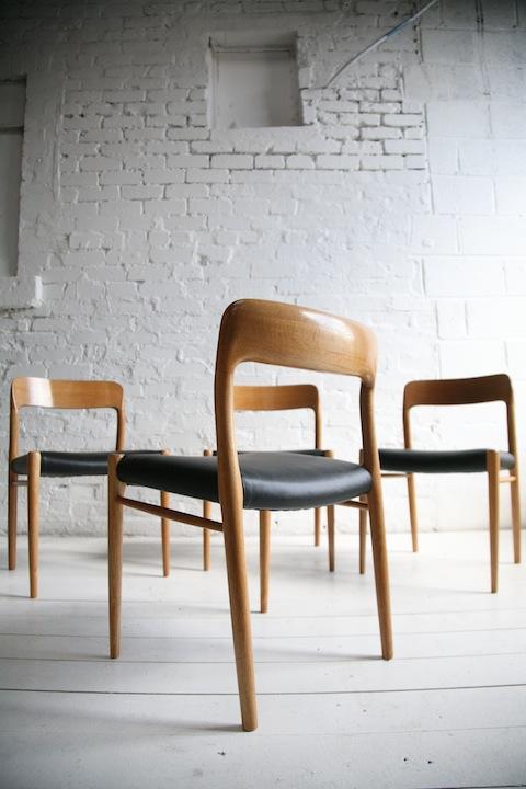 Danish Chairs by Niels O. Møller for J.L. Møllers Møbelfabrik