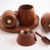 Danish Teak Cruet Set by Wiggers2