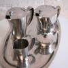 Gense Stainless Steel Coffee Set and Tray 1