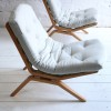 Goble chairs Designed by Dorothy and Paul Goble in 1962 for Stag