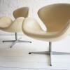 Swan Chairs by Arne Jacobsen for Fritz Hansen1
