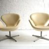 Swan Chairs by Arne Jacobsen for Fritz Hansen2