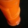 1930s Orange Glass Vase 1