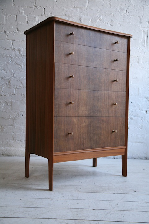 1960s Chest of Drawers by Vanson