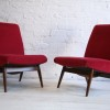 1960s Parker Knoll Red Chairs 2
