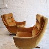 1960s Parker Knoll Swivel Chair2