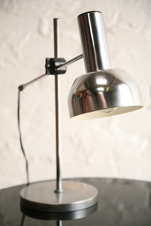 1970s Chrome Desk Lamp