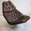 F585 Leather Lounge Chair by Geoffrey Harcourt for Artifort1