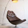 F585 Leather Lounge Chair by Geoffrey Harcourt for Artifort5