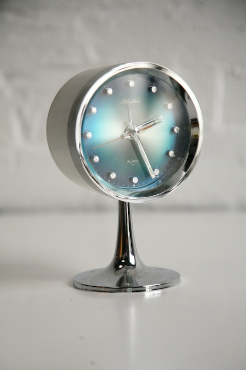 1960s Rhythm Mantle Clock