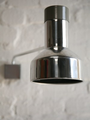 1970s Aluminium Wall Light