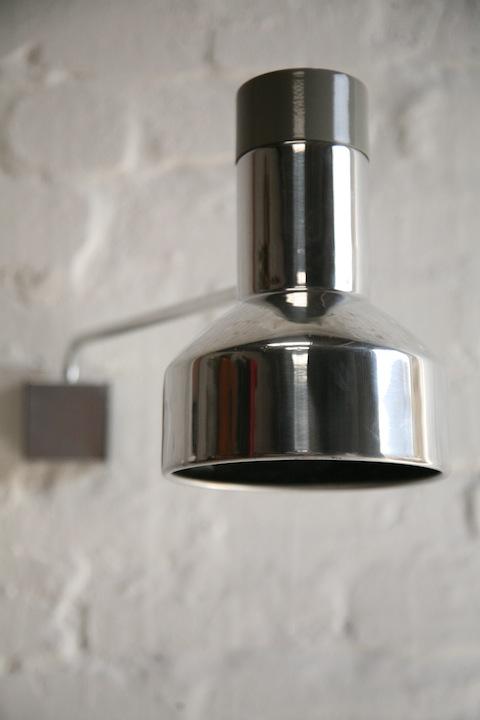 1970s Aluminium Wall Light
