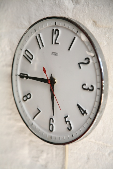 Metamec 1960s Wall Clock