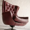 Red 1960s Swivel Chair1