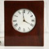 Vintage Mahogany Chiming Mantle Clock