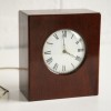 Vintage Mahogany Chiming Mantle Clock1