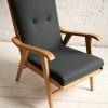 1950s Beech Armchair.