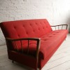 1950s Red Sofabed