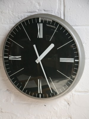 Large Factory Clock