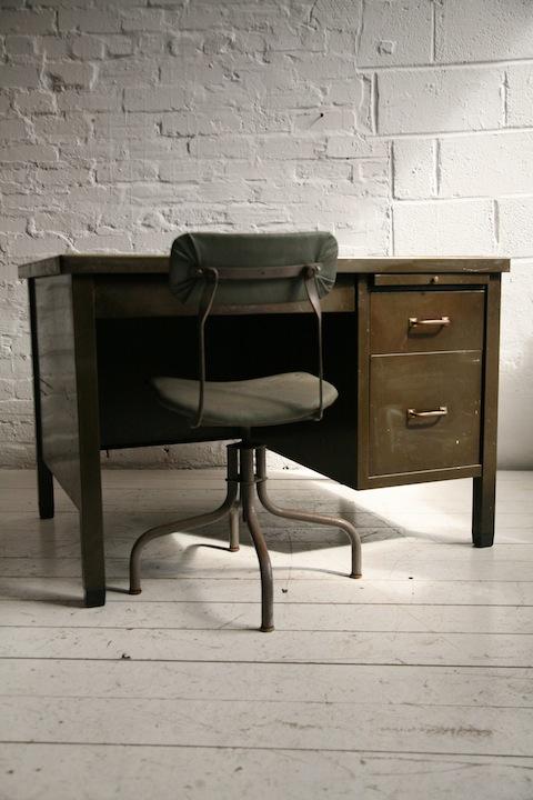 Tansad Desk Chairs Cream And Chrome