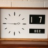 1960s Date Wall Clock 1