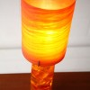 1960s Shatterline Resin Table Lamp1