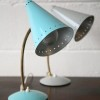 Blue and Grey Maclamp Desk Lamps