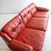 Red 1970s Sofa
