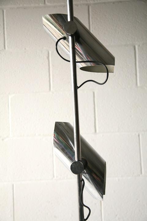 1970s Chrome Floor Lamp