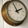 Brass Westclox Wall Clock