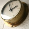 Brass Westclox Wall Clock1