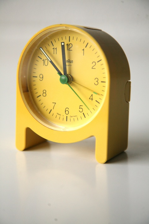 Braun Ab2 Travel Clock Cream And Chrome