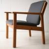 Danish Oak Armchair by Jorgen Baekmark 1