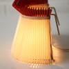 Pleated 1950s Bedside Lamp1